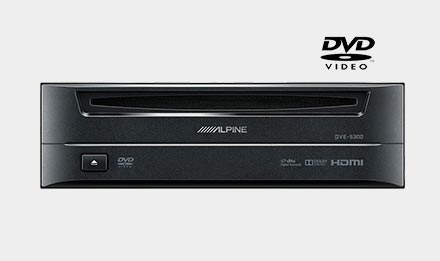 Ducato, Jumper i Boxer - DVD Player DVE-5300