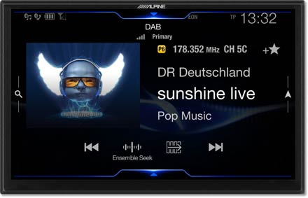 DAB+Digital Radio - Navigation System X902DC-F