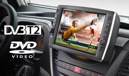 Iveco Daily - Upgrade to DVB-T Digital TV