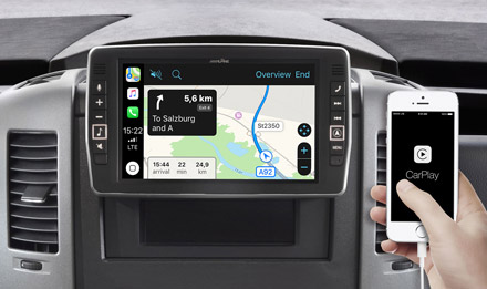 Online Navigation with Apple CarPlay - X902D-S906