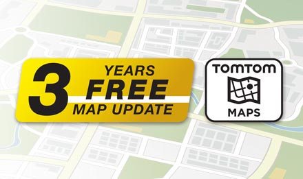 TomTom Maps with 3 Years Free-of-charge updates - X902D-OC3
