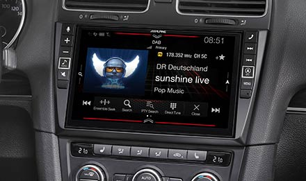 Golf 6 - DAB Digitalni Radio - X902D-G6