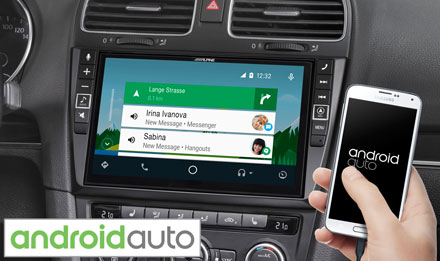 Golf 6 - Radi s Android Auto - X902D-G6