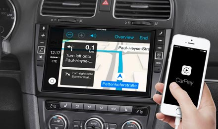 Online navigacija s Apple CarPlay - X902D-G6