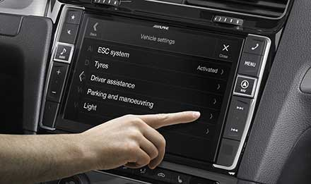 Golf 7 - Vehicle System Setup  - X901D-G7