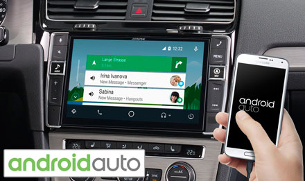 Golf 7 - Radi s Android Auto - X902D-G7