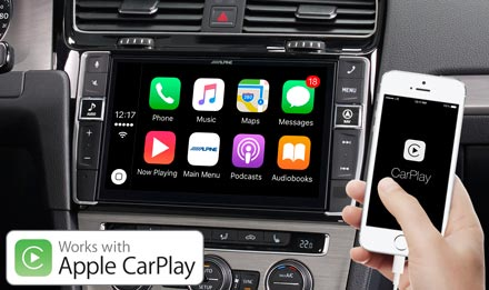 Golf 7 - Radi s Apple CarPlay - X902D-G7