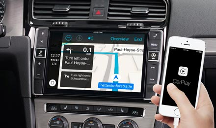 Online navigacija s Apple CarPlay - X902D-G7