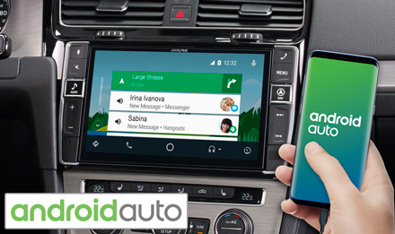 Golf 7 - Radi s Android Auto - X903D-G7